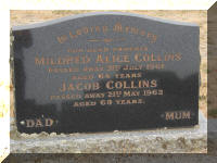 Headstone: Jacob and Mildred